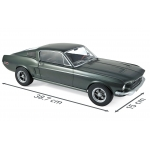 1:12 1968 Ford Mustang Fastback - Green Metallic