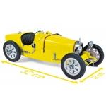 1:12 1925 Bugatti T35 - Yellow