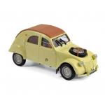 1:43 1961 Citroen 2CV 4x4 Sahara - Panama Yellow