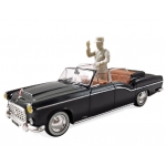 1:43 1968 Citroen 15CV Chapron Presidentielle with Figure