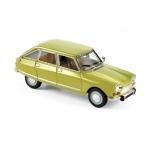 1:43 1970 Citroen Ami 8 Club - Calabre Yellow