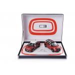 1:43 Coffret Citroen C3 & C3 Aircross 2017 - 2 car set