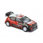 1:43 2017 Citroen C3 WRC N°8 - Lefebvre/G.Moreau - Monte-Carlo 2017