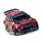 1:43 Citroen C3 WRC - Winner Rallye de Monte Carlo 2019