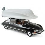 1:43 1972 Citroen DS 21 Pallas - Black with boat on roof
