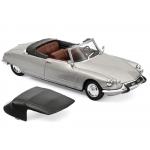 1:43 1965 Citroen DS 19 Cabriolet  - Pearl Grey