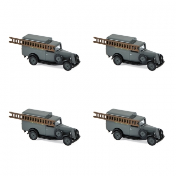 1:87 1935 Citroen U11 Truck - Grey