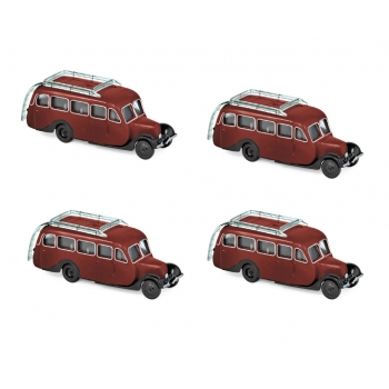 1:87 1947 Citroën U23 Autocar - Dark Red