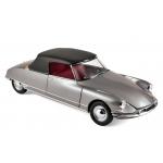 1:18 1961 Citroen DS 19 Cabriolet - Pearl Grey