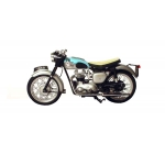 1:18 1959 Triumph Bonneville - Light Blue & Silver