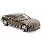 1:18 Bentley Continental GT 2018 - Dark Cashmere metallic