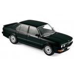 1:18 1986 BMW M535i  - Black metallic