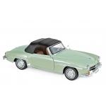 1:18 1957 Mercedes-Benz 190 SL - Light Green metallic