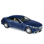 1:18 2018 Mercedes-Maybach S650 Cabriolet - Dark Blue Metallic