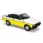 1:18 1977 Opel Kadett GT/E - White & Yellow