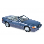 1:18 1989 Mercedes-Benz 500 SL - Blue metallic