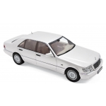 1:18 1997 Mercedes-Benz S320 - White Metallic