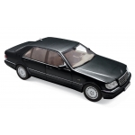 1:18 1997 Mercedes-Benz S320 - Black Metallic
