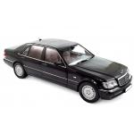 1:18 1997 Mercedes-Benz S600 - Black