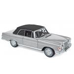 1:18 1969 Mercedes-Benz 280 SE Cabriolet - Silver metallic