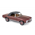 1:18 1963 Mercedes-Benz 230 SL - Dark Red