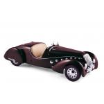 1:18 1937 Peugeot 302 Darl'Mat Roadster  - Dark Red