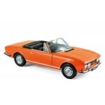 1:18 1970 Peugeot 504 Cabriolet - Capucine Yellow