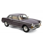 1:18 1967 Peugeot 404 Coupe - Graphite Grey