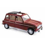 1:18 1966 Renault 4L  - Dark Red