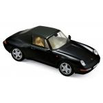 1:18 1994 Porsche 911 Carrera Cabrio - Black
