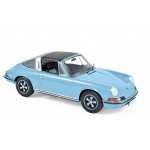 1:18 1973 Porsche 911 S targa - Light Blue
