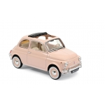 1:18 1968 Fiat 500 L  - Pink with special BIRTH pack