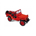 1:18 1942 Jeep - Red