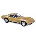 1:18 1969 Chevrolet Corvette Coupe - Gold metallic