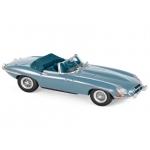 1:43 1961 Jaguar E-Type Cabriolet - Blue Metallic