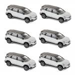 1:64 2017 Peugeot 5008 - White metallic x 6pcs
