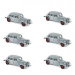 1:64 1939 Citroen 15-SIX - Grey x 6