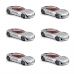 1:64 2017 Renault Trezor - Silver - Pack 6