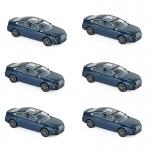 1:64 2018 Peugeot 508 - Blue x 6