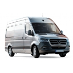1:43 Mercedes-Benz Sprinter 2018 - Silver
