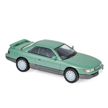 1:43 1988 Nissan Silvia S13 - Light Green Metallic