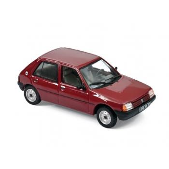 1:43 1988 Peugeot 205 GL - Dark Red