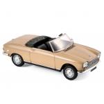 1:43 1967 Peugeot 204 Cabriolet - Beige metallic