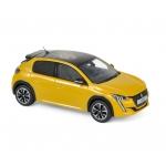 1:43 2019 Peugeot 208 GT Line - Yellow