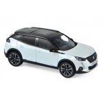 1:43 2020 Peugeot 2008 GT - Pearl White