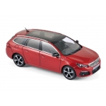1:43 2017 Peugeot 308 SW GT - Ultimate Red