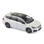 1:43 2017 Peugeot 308 SW GT - Pearl White