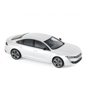 1:43 2018 Peugeot 508 GT - Pearl White