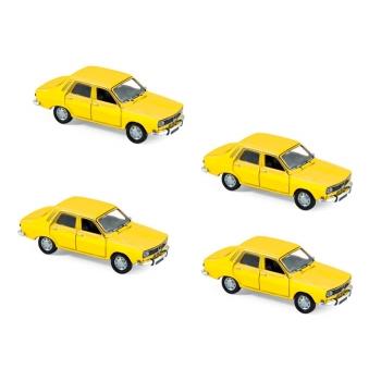 1:87 1974 Renault 12 - Lemon Yellow