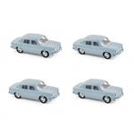 1:87 1963 Renault 8 - French Blue
